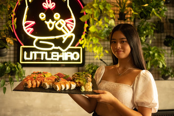 Little Hiro Sushi Platte