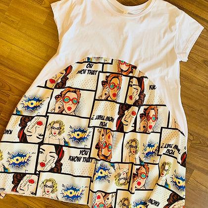 Comic Kleid