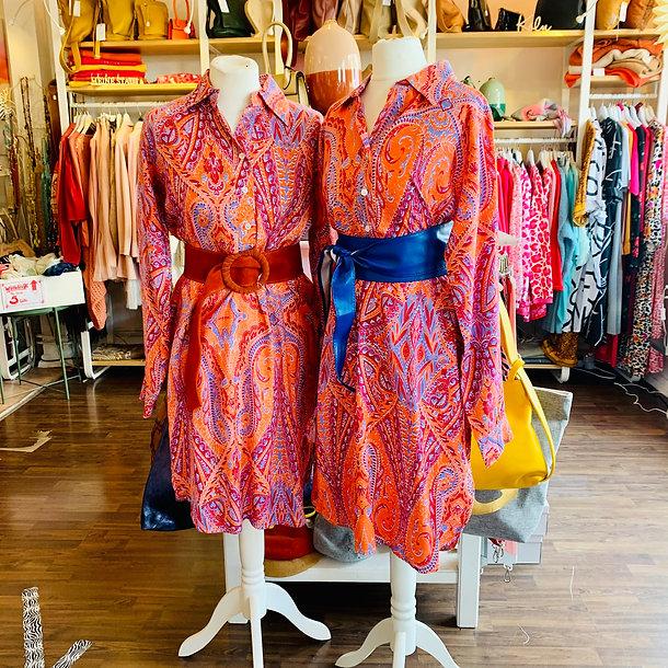Paisley Kleid aus dem Schönen Laden