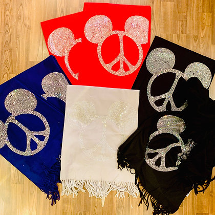 Maus Schal - Peace