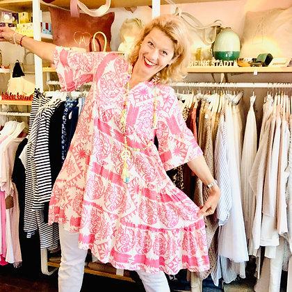 Ethno Kleid in Pink