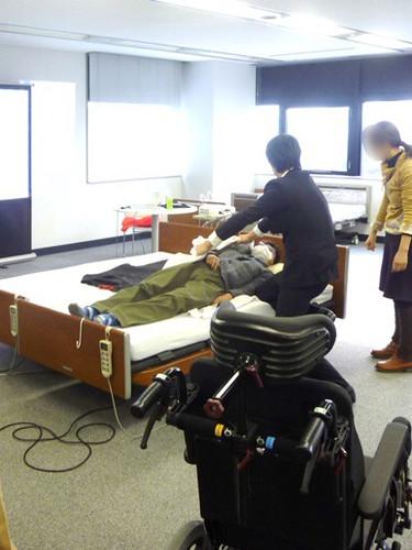 笠原聖吾 理学療法士 LACスクール講師 持ち上げない移乗 腰痛対策 8.JPG