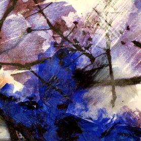 Spring Memories series - blue