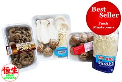 BESTSELLER - Fresh Mushrooms