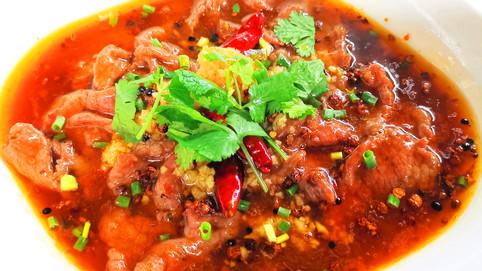 水煮牛肉 Rindfleisch nach Shuizhu Art