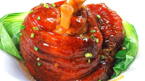 華苑秘製肘子 Schweinshaxen XXL nach traditioneller Pekinger Art