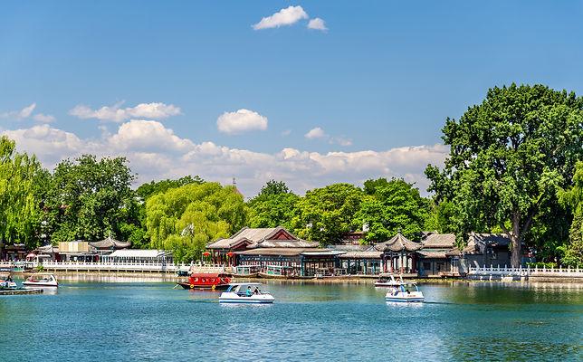 Qianhai lake in Shichahai area of Beijing - China.jpg