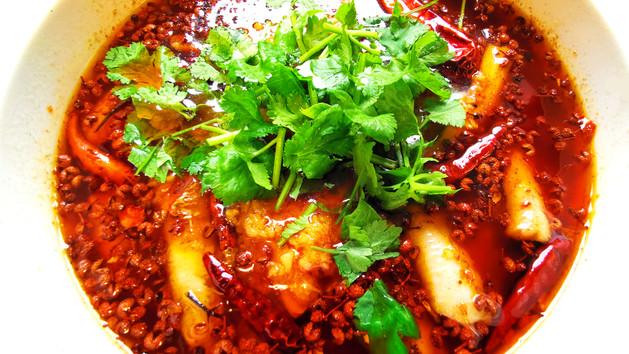 水煮魚 Fischfilet nach Shuizhu Art