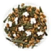 Green tea Japanese Genmaicha blend isola