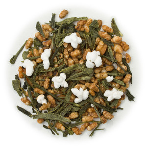 Green tea Japanese Genmaicha blend isola