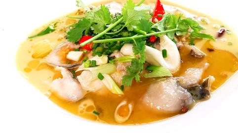 酸菜鯉魚 Karpfen mit chinesischem Sauerkraut (leicht scharf)