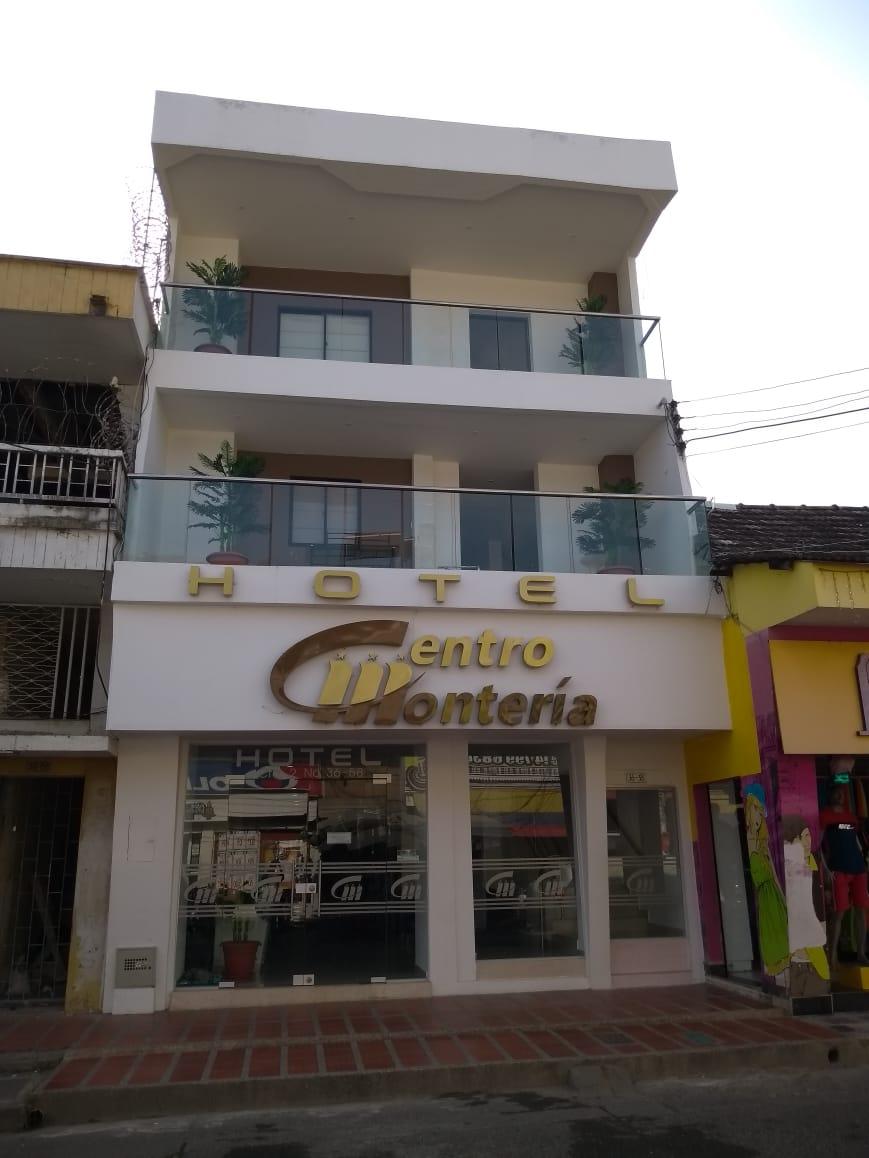 fachadahotelcentromonteria