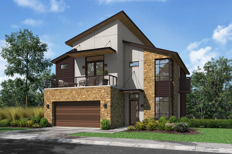 Elevation C Design Rendering