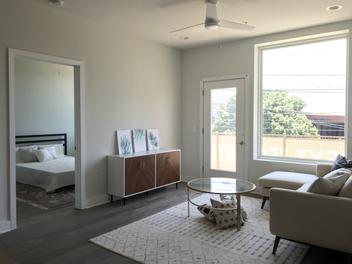 Fourth& Unit Living Room