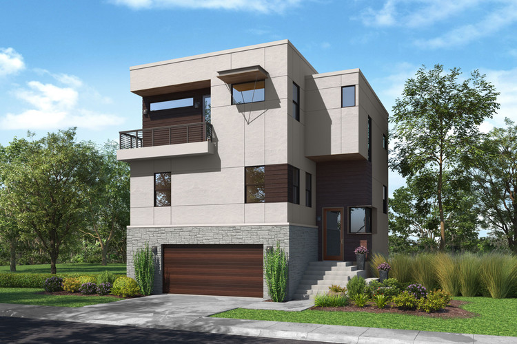 Elevation D Rendering Design