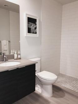 Model Unit 308. Bathroom