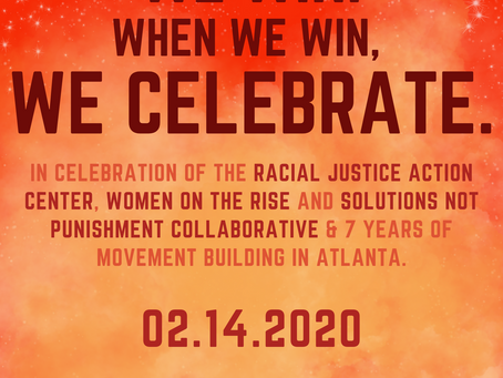 When we win, WE CELEBRATE! Join us on Feb. 14th!