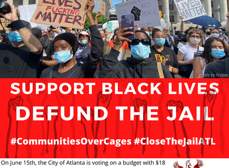 Take Action NOW to Defund the Jail!