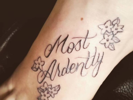 ...Most Ardently