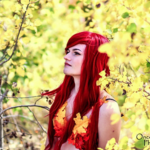 Autumn Poison Ivy Cosplay Session
