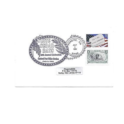 U542 George Washington Blue 2-1/2 Cent Embossed, 3