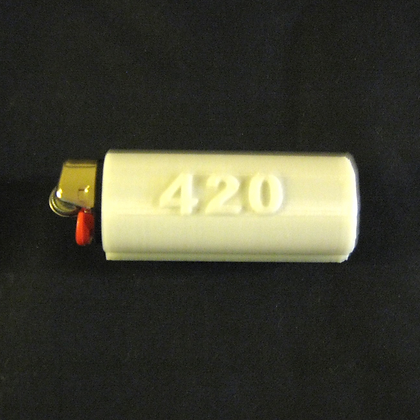 420 Bic Lighter Cover Cozy with Compartment