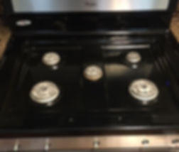 Stove Top - After Cleaning