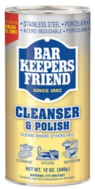 Bar Keepers Friend - Cleanser & Polish