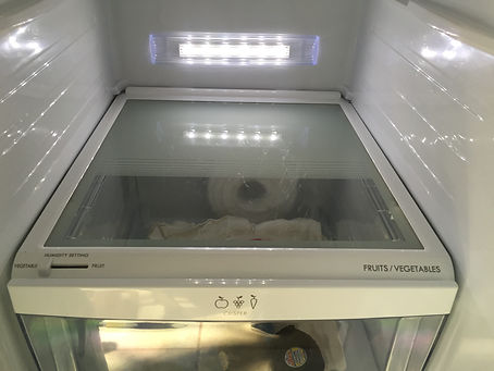 Inside Refrigerator - After Cleaning