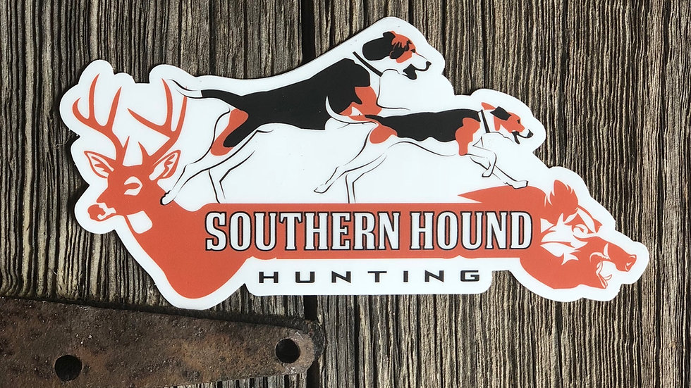 Southern Hound Hunting Stickers