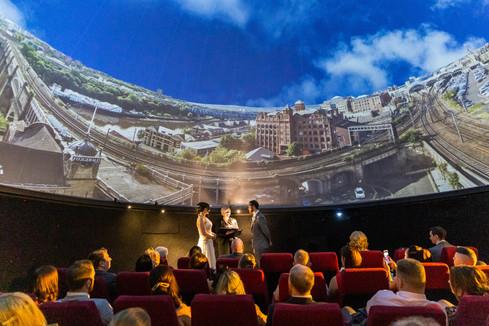 wedding centre for life planetarium