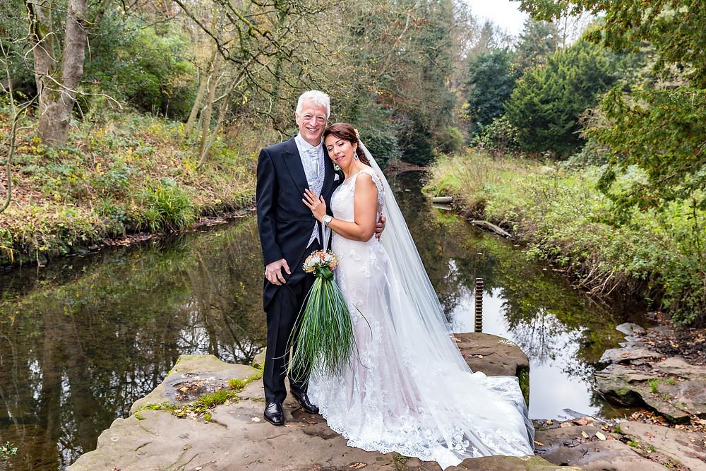 jesmond dene wedding image