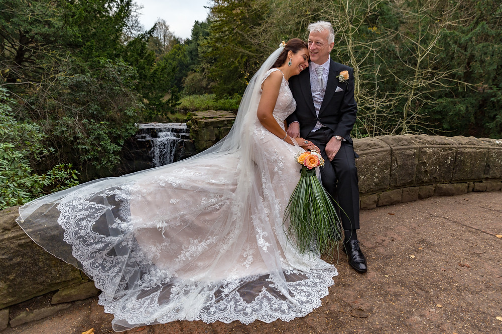 wedding picture jesmond dene