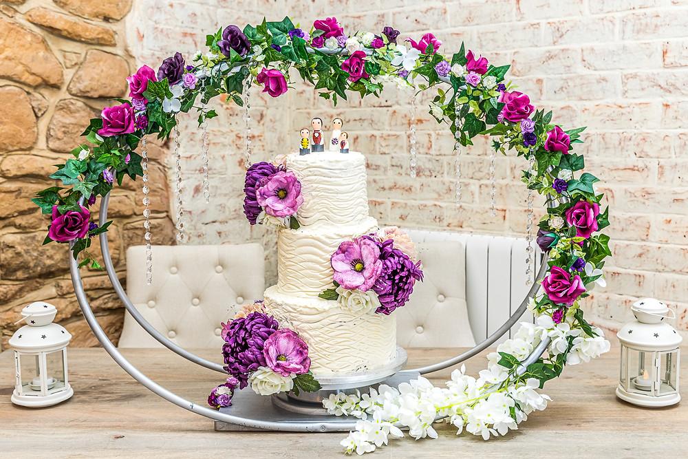 wedding cake shotton grange