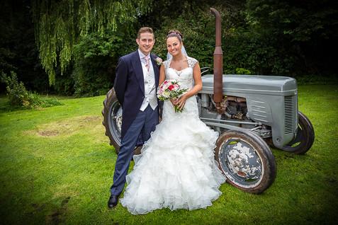 home wedding tractor