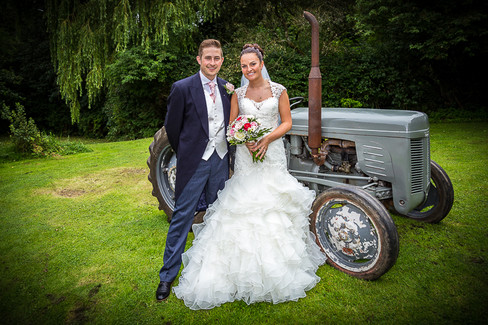 home wedding tractor