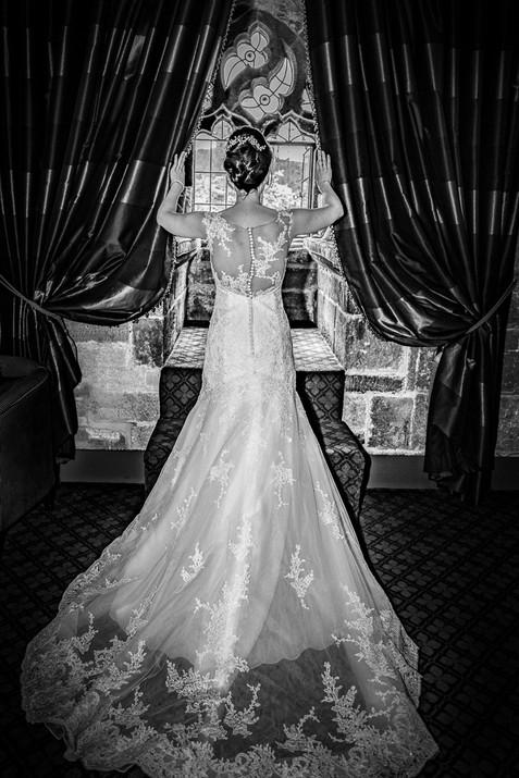 wedding langley castle