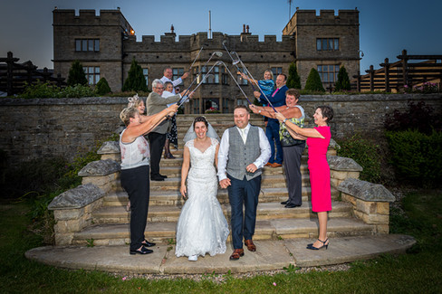 wedding photographer slaley hall golf