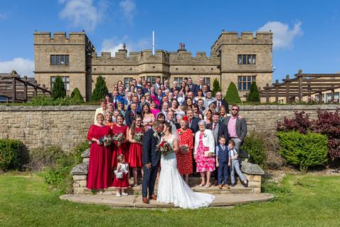 wedding slaley hall