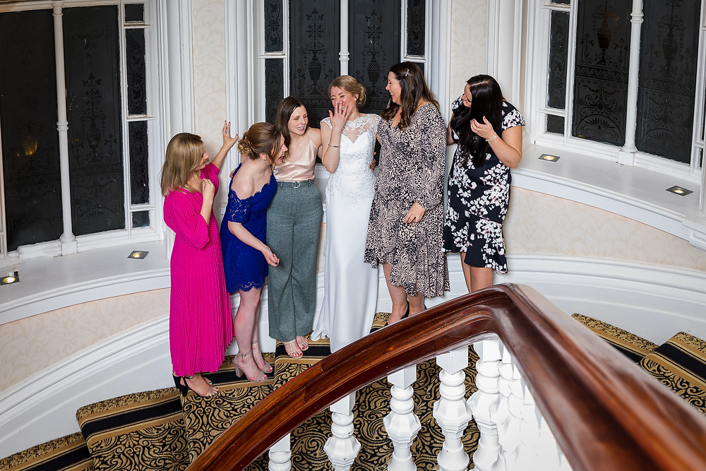 wedding photograph grand hotel tynemouth