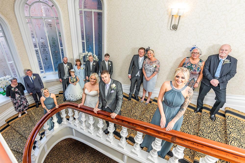 covid 19 wedding photograph grand hottel tynemouth