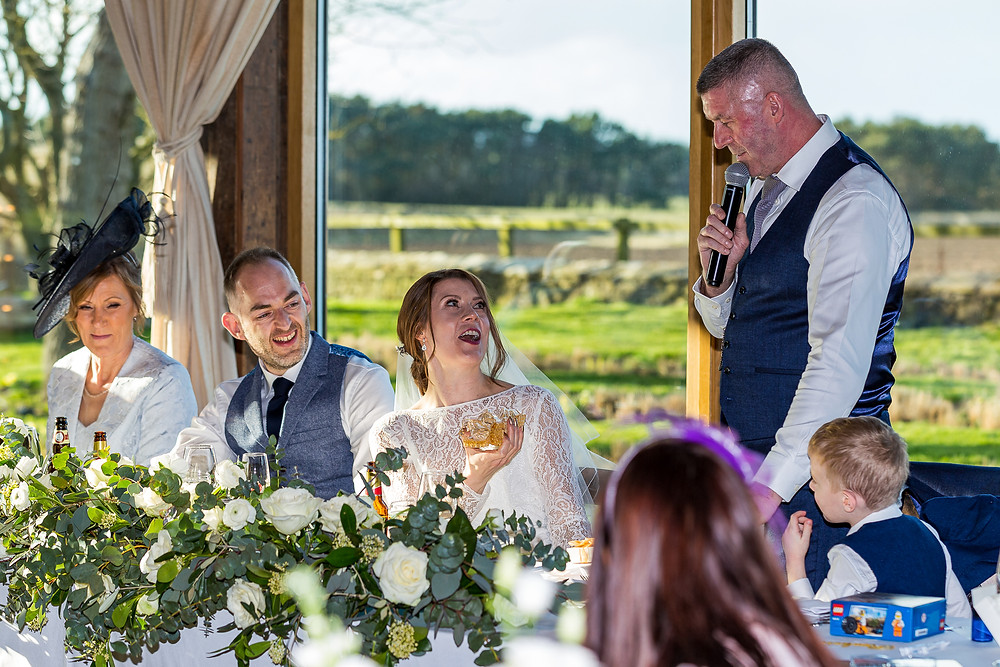 wedding image newton hall