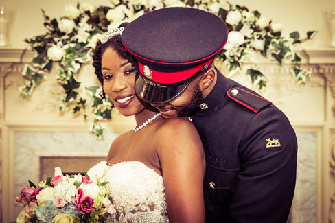 durham registry military  wedding