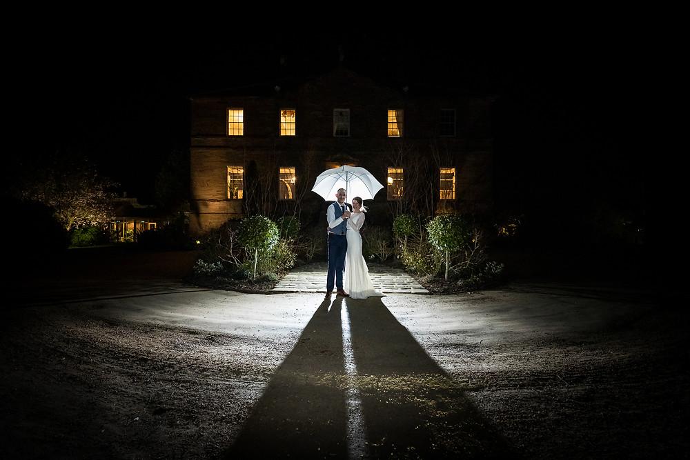 wedding photograph newton hall