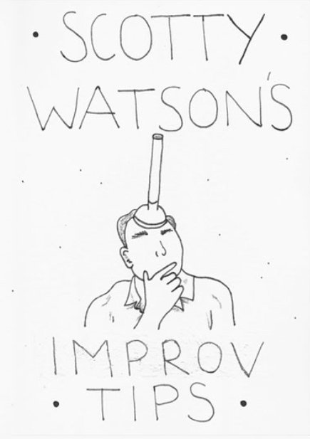 Scotty Watson Improv Tips Cover www.scottywatson.com