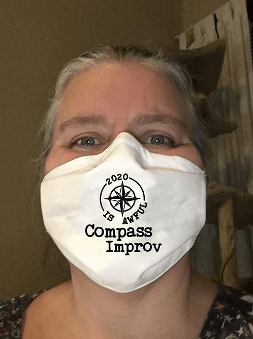 Compass Improv & Comedy Festival 2020 Mask