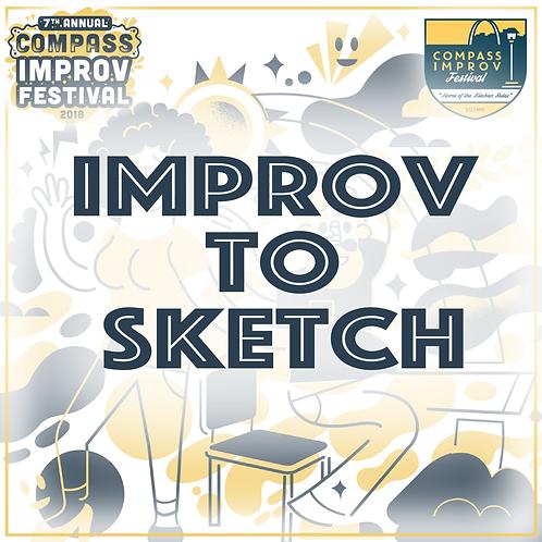Improv to Sketch with Patrick Newson