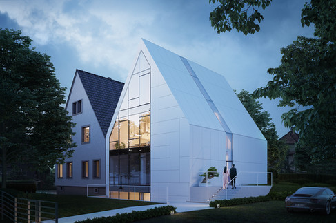 Semi-deatched house project: MFA Studio - 2020
