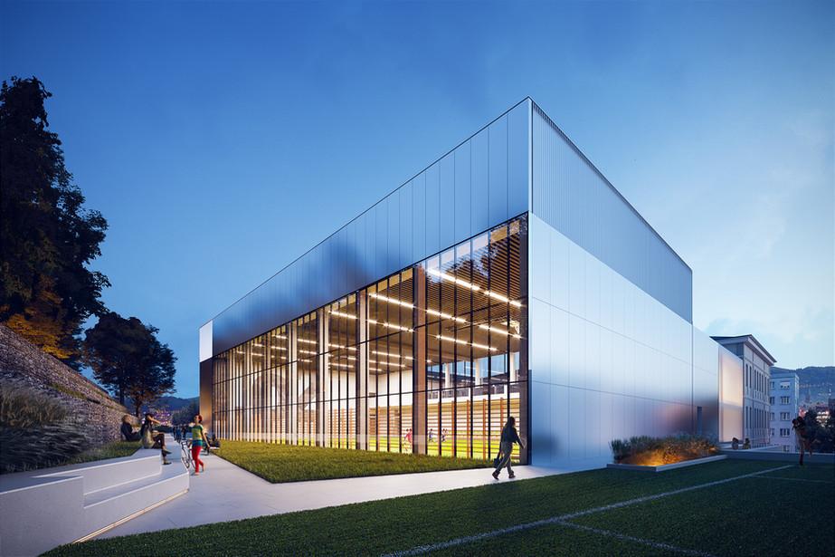 Sports hall project: JMPA - 2020