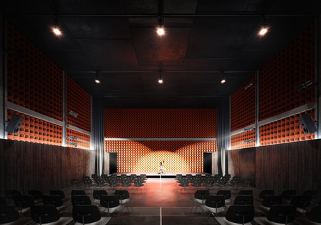 Culture center competition project: JMPA - 2020